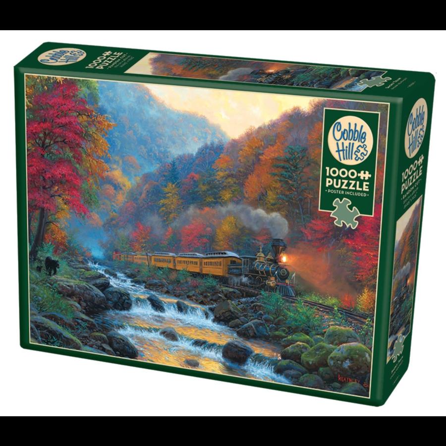 Smoky Train - puzzel van 1000 stukjes-1