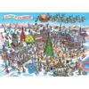 Cobble Hill 12 days of Christmas - puzzel van 1000 stukjes