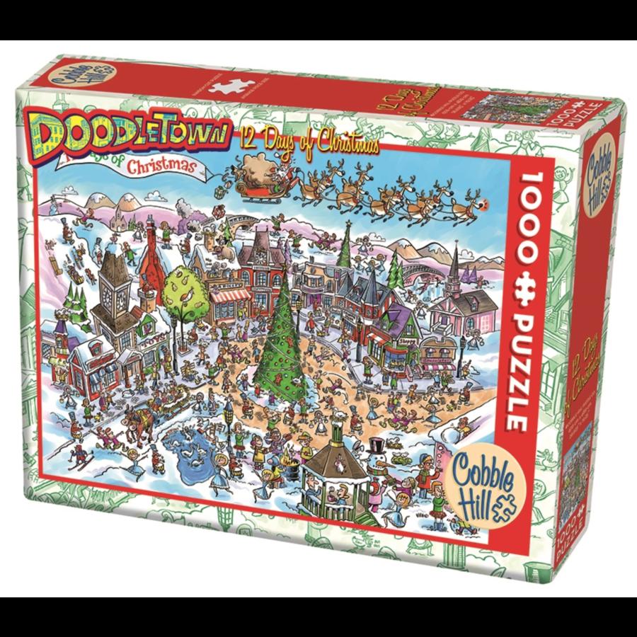 12 days of Christmas - puzzel van 1000 stukjes-2