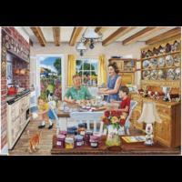 thumb-Een dagje op de boerderij - 4 puzzels van 500 stuks-3