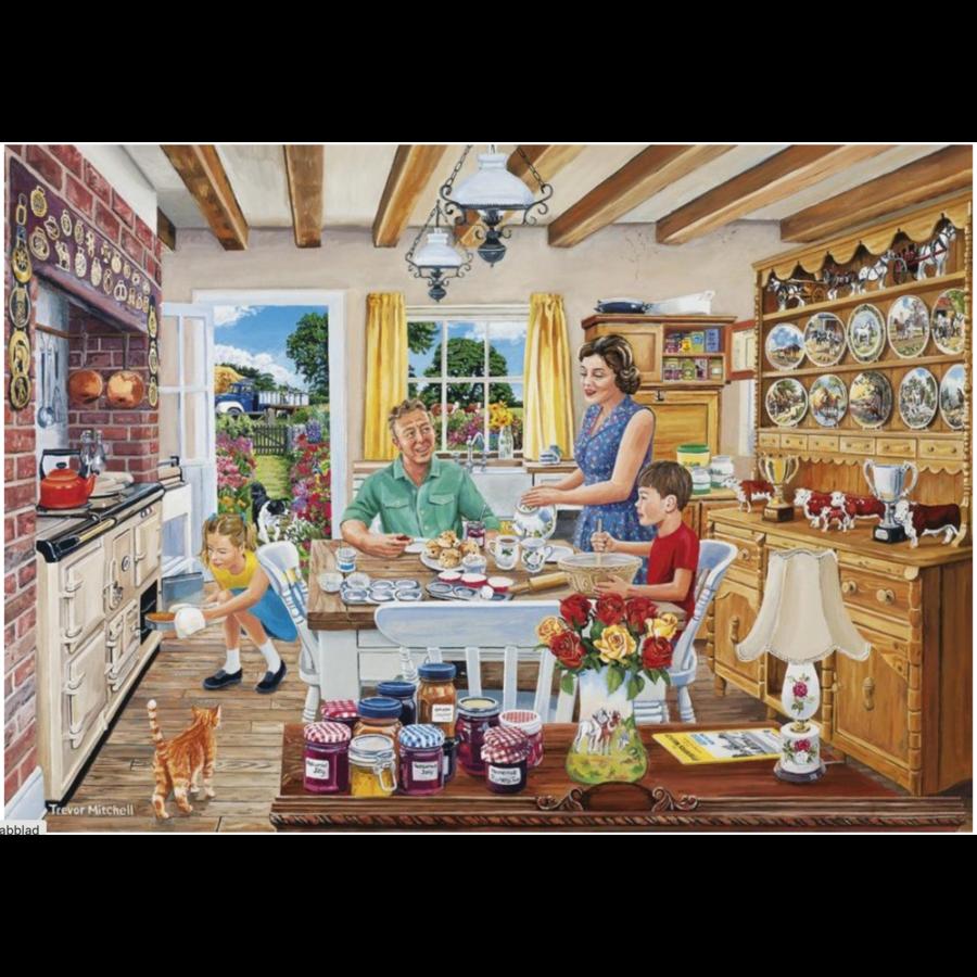 Een dagje op de boerderij - 4 puzzels van 500 stuks-3