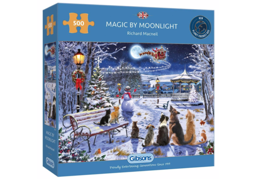 Gibsons Magic by Moonlight - puzzle 500 pieces