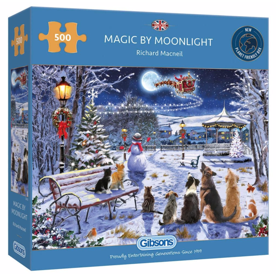 Magic by Moonlight - puzzle de 500 pièces-1