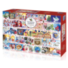Gibsons Christmas Alphabet - jigsaw puzzle of 1000 pieces