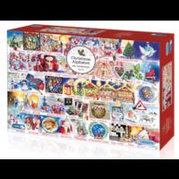 thumb-Christmas Alphabet - puzzel van 1000 stukjes-1