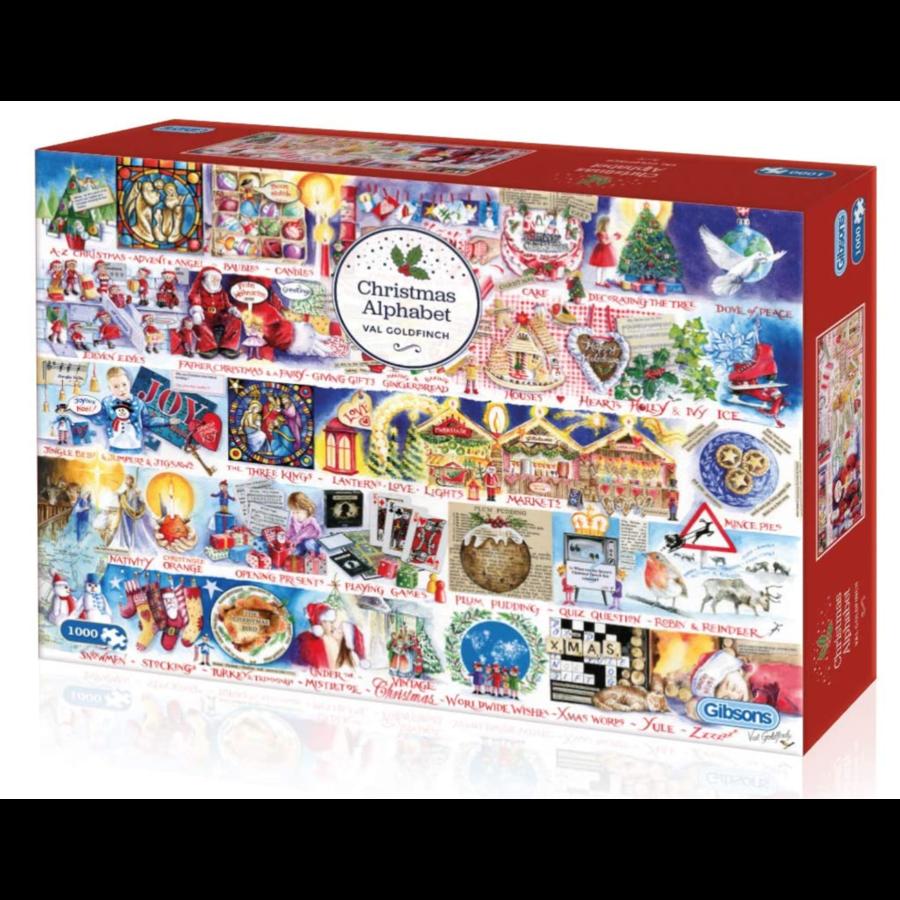 Christmas Alphabet - puzzel van 1000 stukjes-1