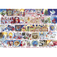 thumb-Christmas Alphabet - jigsaw puzzle of 1000 pieces-2