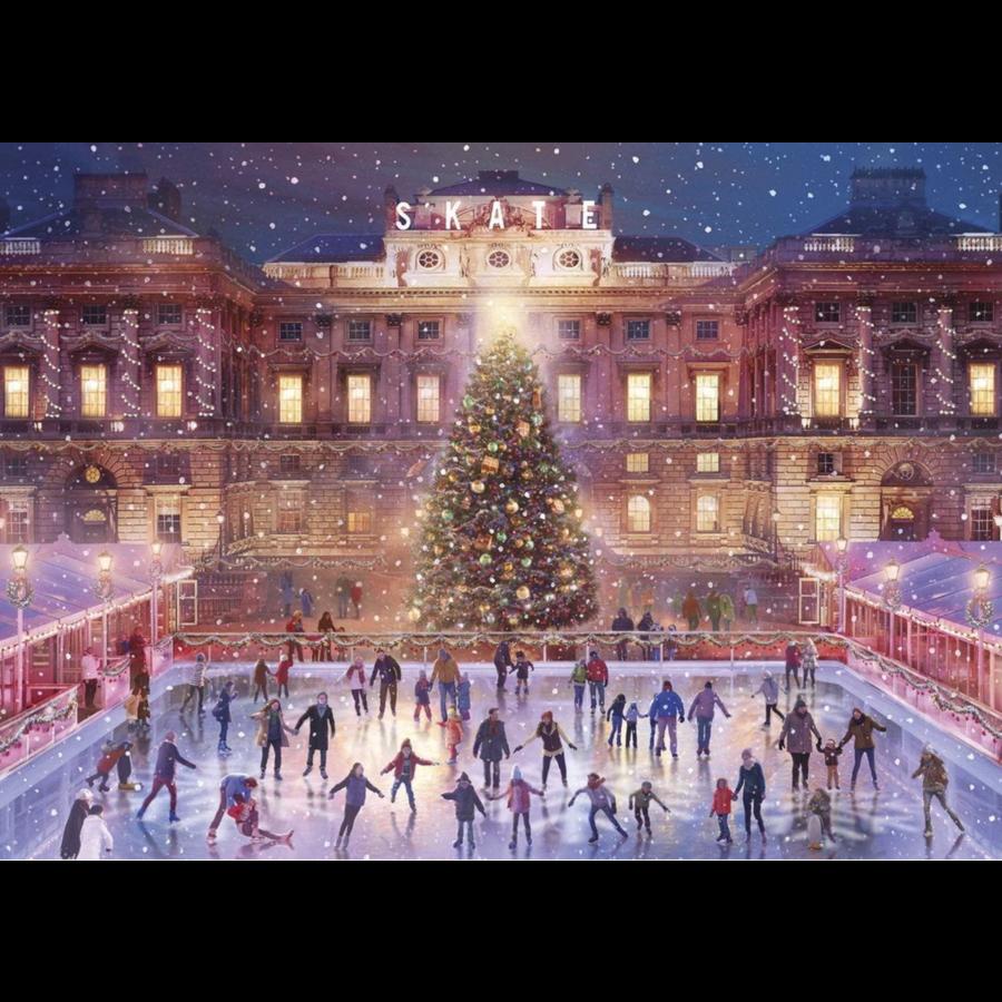 Skating at Sunset - puzzel van 1000 stukjes-1