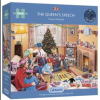 thumb-The Queen's Speech - puzzel van 1000 stukjes-1