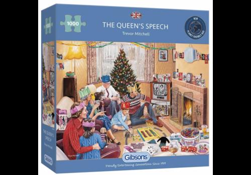 Gibsons The Queen's Speech - 1000 stukjes