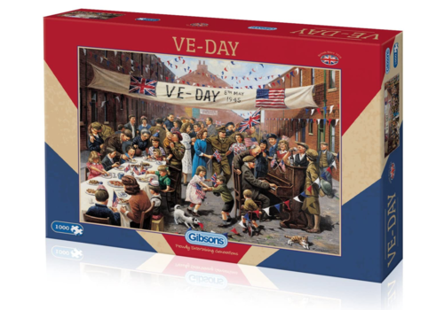 Gibsons VE Day - 1000 pieces