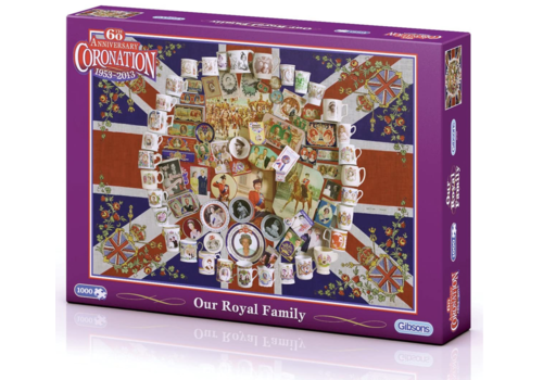 Gibsons Our Royal Family - 1000 pieces