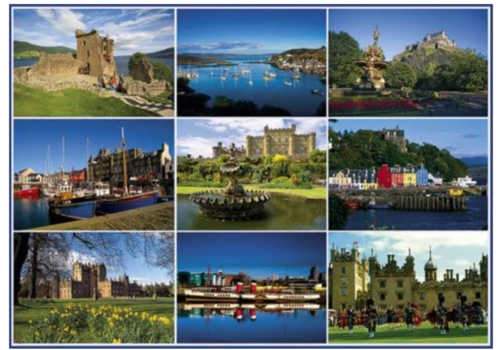 Gibsons Postcards from Scotland 2 - 1000 pieces