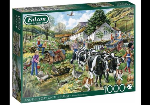 Falcon Een nieuwe dag op de boerderij - 1000 stukjes
