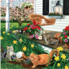 SUNSOUT In the Swing of it -  jigsaw puzzle of 500 pieces