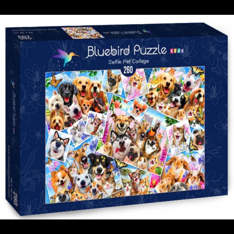Selfie Pet Collage - puzzle de 260 pièces-2