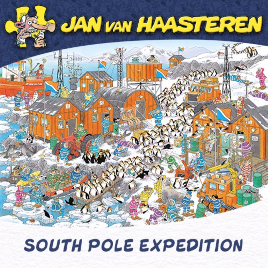 South Pole Expedition - JvH - 1000 pieces-1