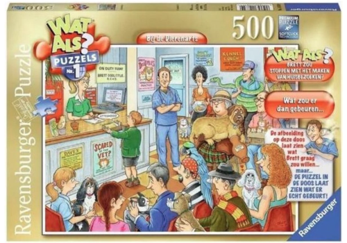 Ravensburger What if? N°1 - At the vet - 500 pieces