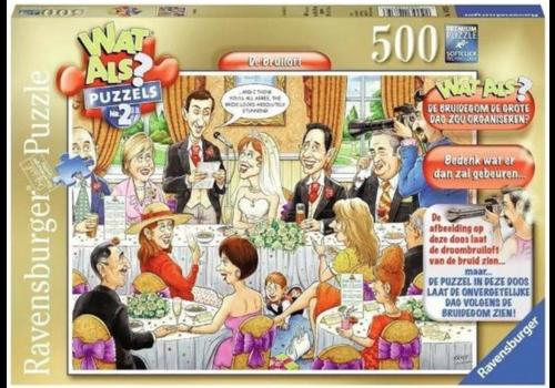 Ravensburger Wat als? n°2 - De Bruiloft - 500 stukjes