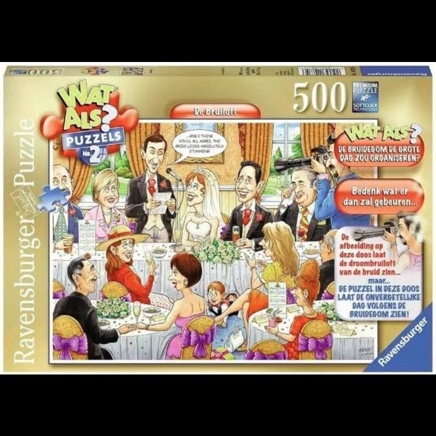 Et si ? n°2 - Le mariage - 500 pièces-1