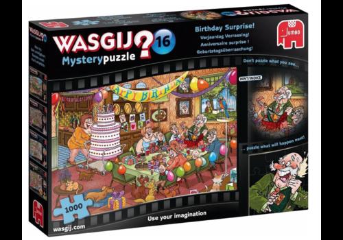 Jumbo Wasgij Mystery 16 - Surprise d'anniversaire -  1000 pièces