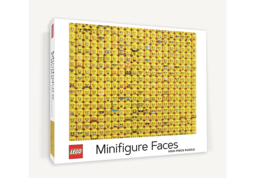 Chronicle Books LEGO - Minifigure Faces - puzzle - 1000 pieces