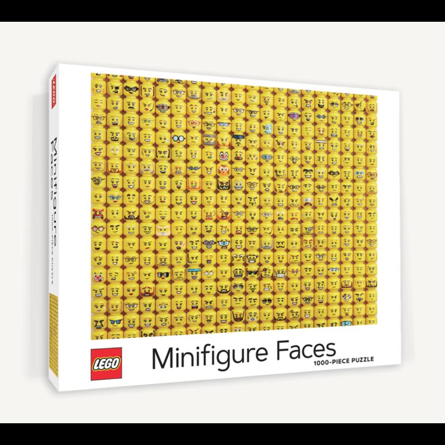 LEGO - Minifigure Faces - puzzle - 1000 pieces-1