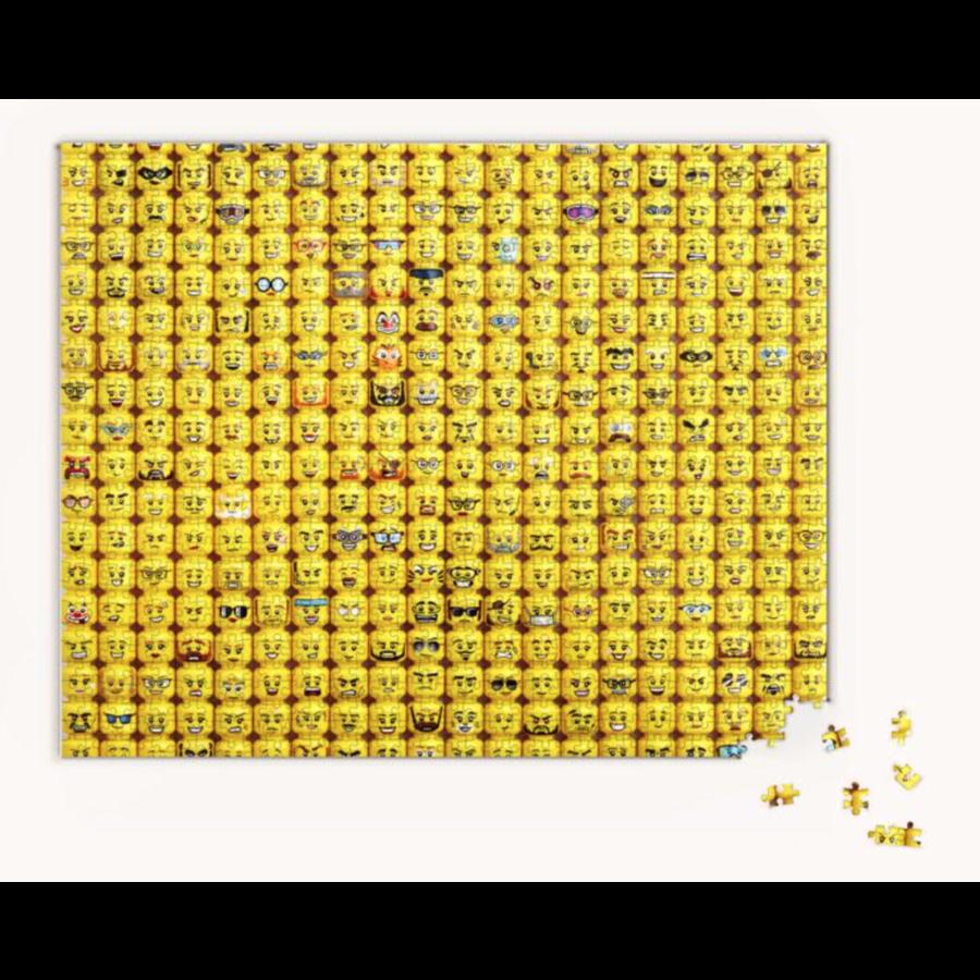 LEGO - Minifigure Faces - puzzle - 1000 pieces-2