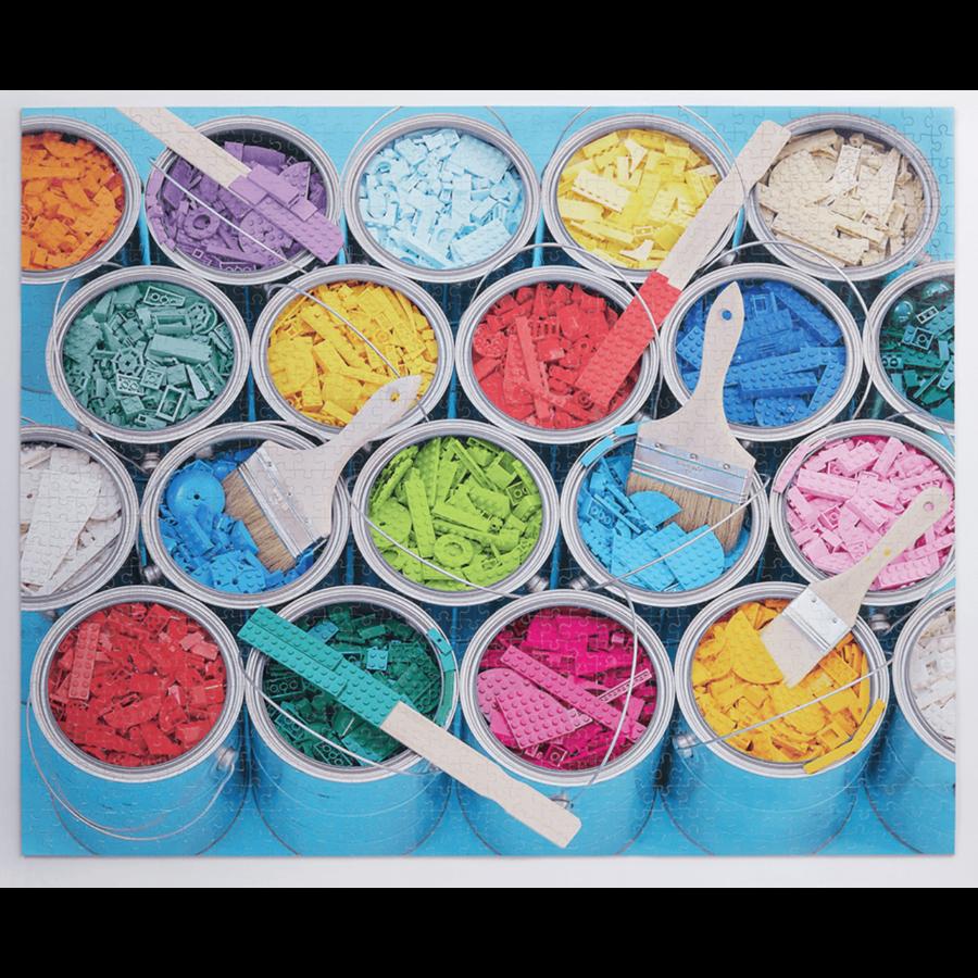 LEGO - Paint Party  - puzzel - 1000 stukjes-2