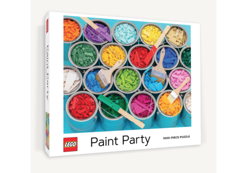 Chronicle Books LEGO - Paint Party - puzzle - 1000 pieces