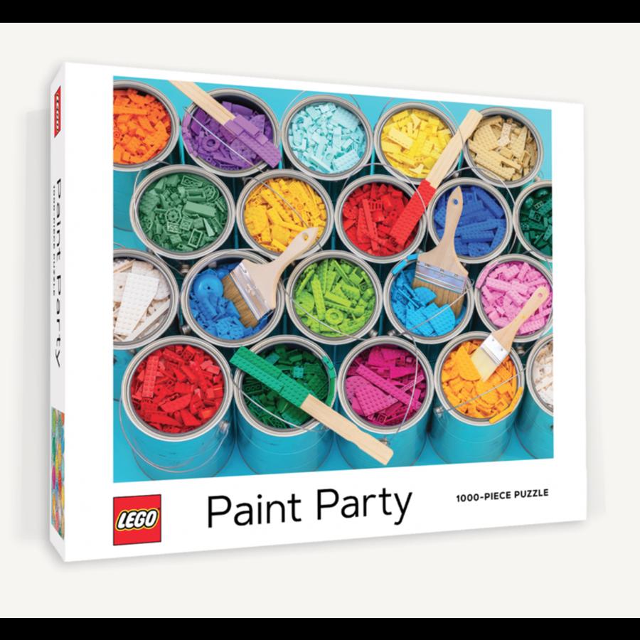 LEGO - Paint Party  - puzzel - 1000 stukjes-1