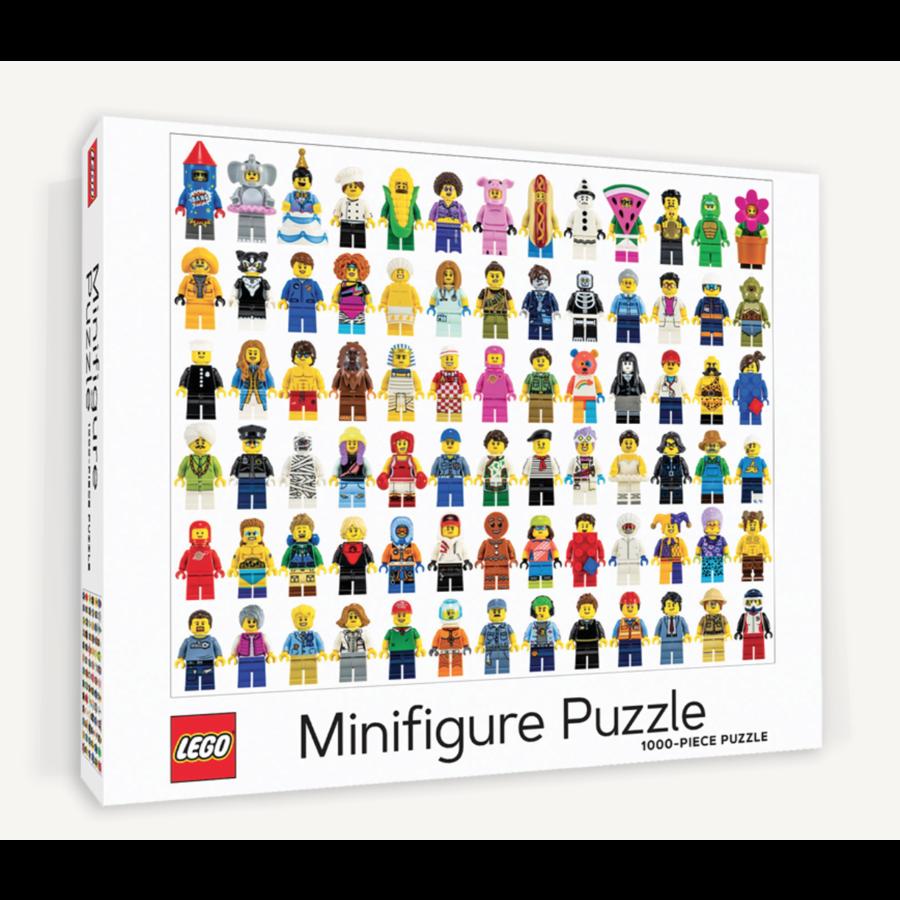 LEGO - Minifigure - puzzle - 1000 pièces-1