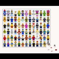 thumb-LEGO - Minifigure - puzzle - 1000 pièces-2