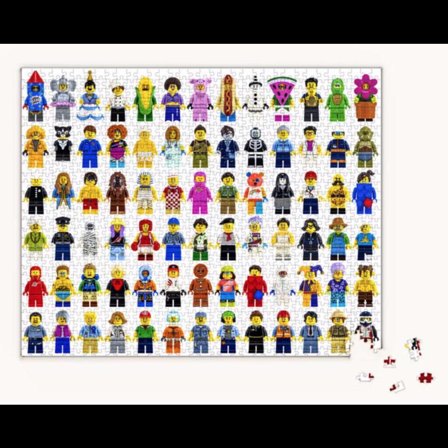 LEGO - Minifigure - puzzel - 1000 stukjes-2