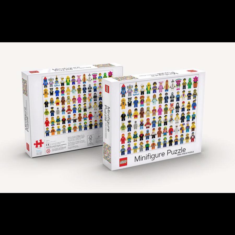 LEGO - Minifigure - puzzle - 1000 pièces-3