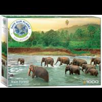 thumb-La forêt tropicale - puzzle de 1000 pièces-1