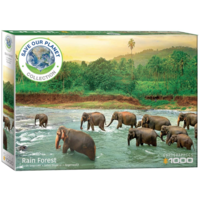 thumb-The rainforest - 1000 pieces - jigsaw puzzle-1