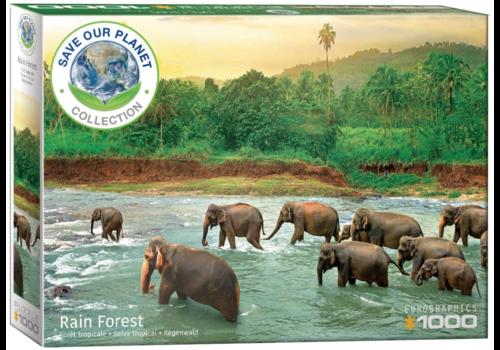 Eurographics Puzzles Het regenwoud - 1000 stukjes