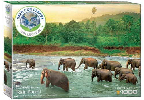 Eurographics Puzzles The rainforest - 1000 pieces