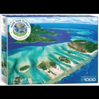 thumb-Het koraalrif - puzzel van 1000 stukjes-2