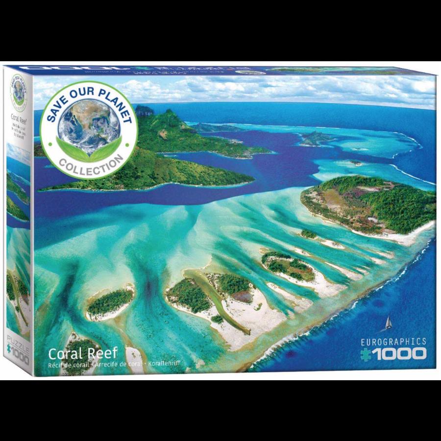 Het koraalrif - puzzel van 1000 stukjes-2