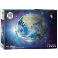 thumb-Onze planeet - puzzel van 1000 stukjes-1