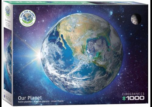 Eurographics Puzzles Notre planète - 1000 pièces