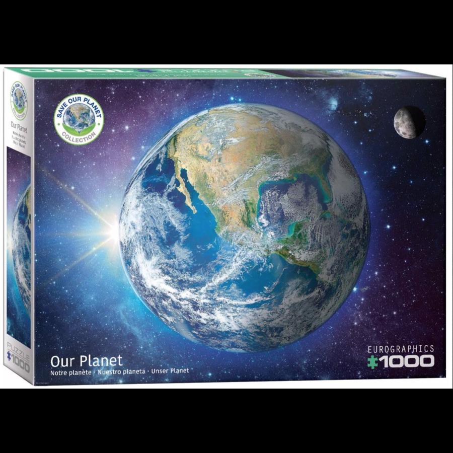 Onze planeet - puzzel van 1000 stukjes-1
