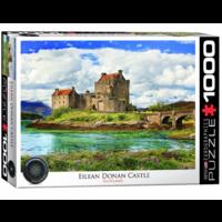 Eilean Donan Castle - Schotland - puzzel van 1000 stukjes