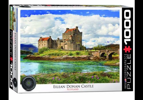 Eurographics Puzzles Eilean Donan Castle - Schotland  - 1000 stukjes