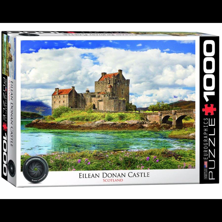 Eilean Donan Castle - Schotland - puzzel van 1000 stukjes-1