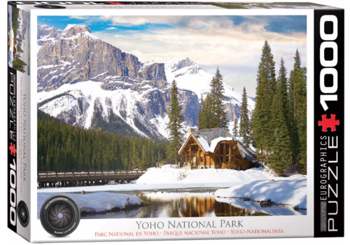 Eurographics Puzzles Yoho National Park British Columbia  - 1000 stukjes