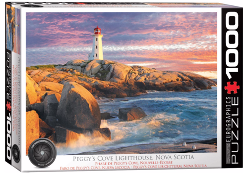 Eurographics Puzzles Peggy's Cove Lighthouse - Nova Scotia - 1000 pieces