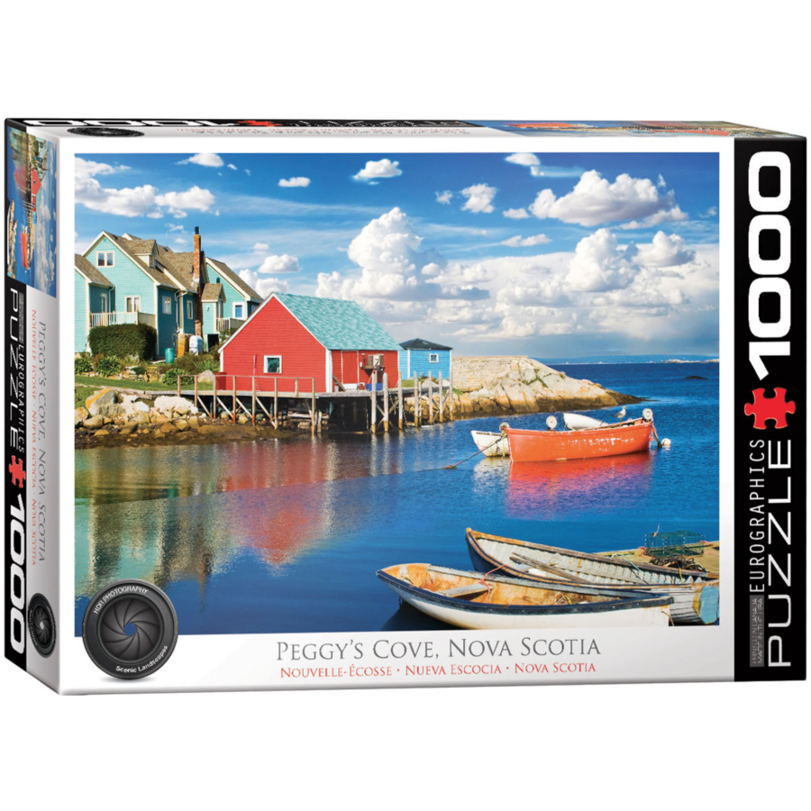 Peggy's Cove - Nova Scotia - puzzle de 1000 pièces-1